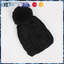 Nuevo producto de diseño personalizado beanie sombrero de punto para 2016