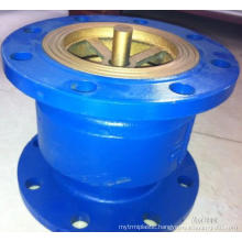 China made low price double flange connection ductile iron silencing check valve DN200