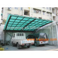 Construction material sun house pc honeycomb sheet