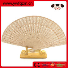 21cm long pliant promotion ventilateur en bambou