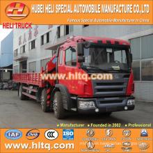 JAC 6x2 10 tons XCMG crane truck with crane