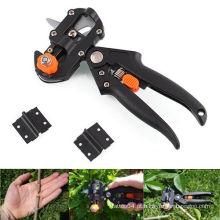 Fruit Tree Professional poda tesouras Ferramenta de corte de enxerto com 2 lâminas extra
