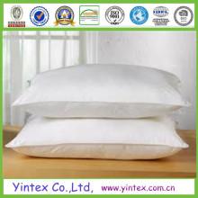 5 Estrellas Hotel Goose Down Pillow Almohada de plumas de pato blanco de alta calidad