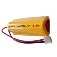 Batería recargable PKCELL Nicd Aa 300mah 3.6v