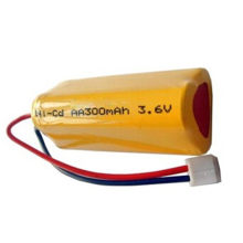 Batterie rechargeable de PKCELL Nicd Aa 300mah 3.6v