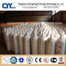Acétyle à haute pression Acétate d'oxygène oxygène Argon Dioxyde de carbone Cylindre à gaz en aluminium