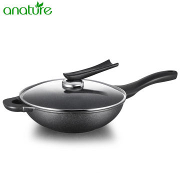 Best Nonstick Korean Marble Wok Cookware