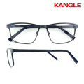 Women prescription glasses half rim metal stainless steel optical frame spectacle frames