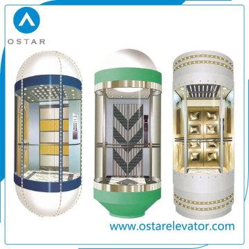 Belle cabine d'ascenseur d'observation conçue avec une bonne qualité (OS41)