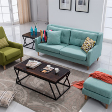 Японский и Северной маленький дом ткань диван разборными диван