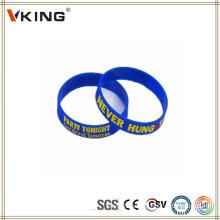 Wholesales China Silicone Custom Bracelets