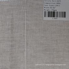 Le tissu de lin pur L-0475