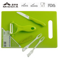 Ceramic Fruit Forks & Knife Set for Promotional Products/Gift Items