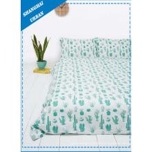 Cubierta de edredón de lino de cama (set)