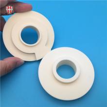 custom 99% Al2O3 aluminum oxide ceramic cylinder disc