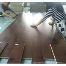 Anti-Rutsch-Indoor-Nutzung Asian Walnut Farbe Acacia Engineered Holzboden