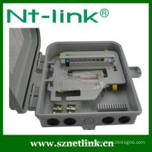 Factory Manufacture 8/12 Core Plastic Material Mini Optic Fiber Termination Box