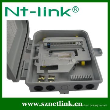 Fabrikherstellung 8/12 Core Plastic Material Mini Optik Faser Terminierung Box