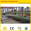 Corte de bobina de aço CR HR para linha de comprimento, nivelamento de bobina de aço e máquina de corte