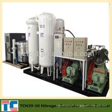 Homologation CE TCN29-800 Équipement de remplissage d'azote