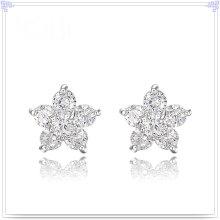 Joyería de cristal joyería de aleación de moda pendiente (ae137)