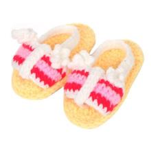Neueste Baby Girl Boy Häkeln Handgefertigte Sandalen Schuhe