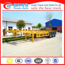 3 Alxes 40ft container transport semi-trailer