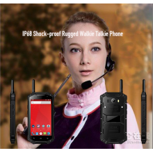 IP68 Radio Walkie Talkie resistente a los golpes