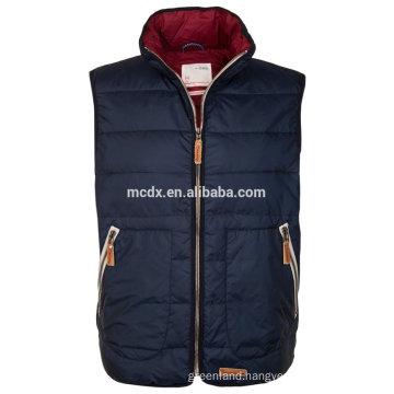 man winter sleeveless waistcoat with plus size