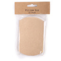Blank Kraft Paper Pillow Packaging Box