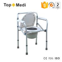 Einstellbare Höhe Toliet Commode Stuhl für Behinderte und ältere Menschen