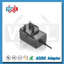 Adaptador de energia do Reino Unido set top box power adapter