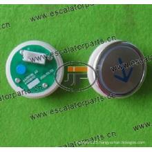 Sjec Elevator Push Button A4N28797/A4J28796A3 (SJBT01P4BDW)
