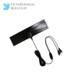 Mini-Flat Amplified High-Gain-DVB-T2-Antenne