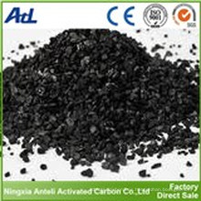 Carbón activado de bambú granular para precipitador electrostático