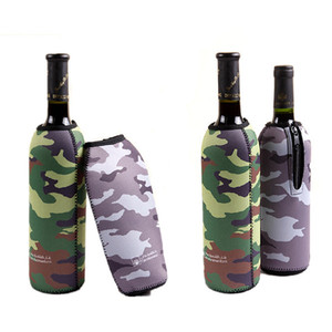 Promotional Insulated Wine Holder Neoprene Bottle Sleeves