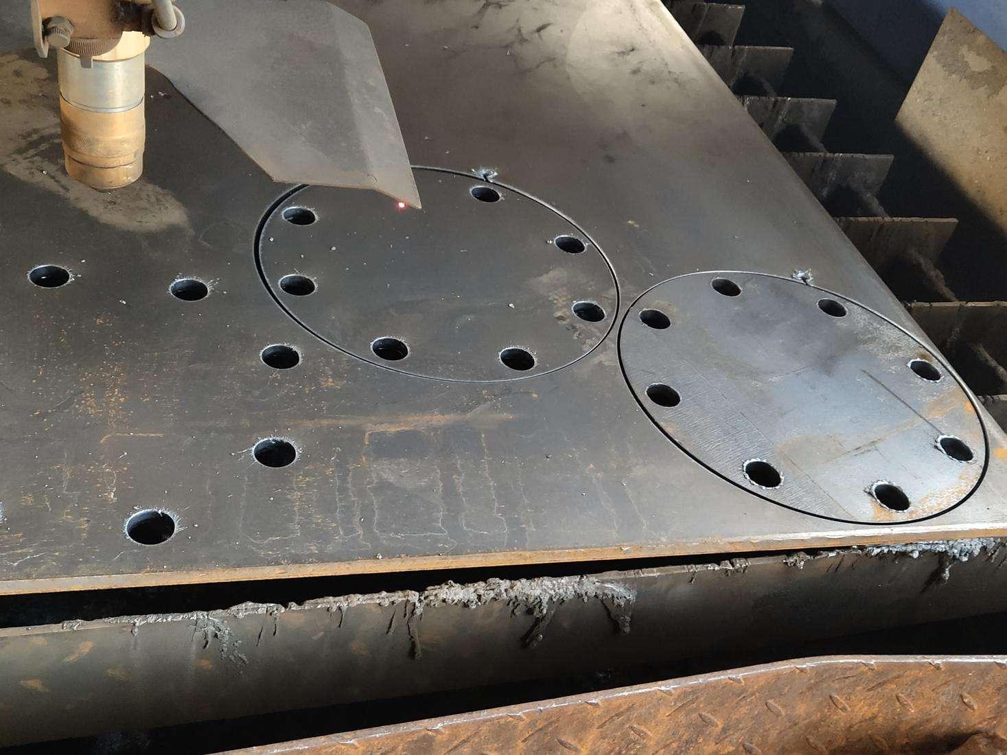 cnc plasma cutter metal