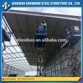 Bâtiment préfabriqué en acier