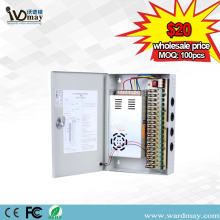 18chs DC12V30A CCTV Fuse Power Supply Box