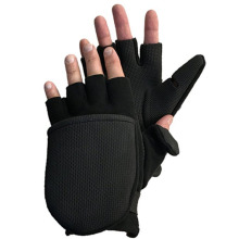 wholesale fashion half-finger fishing microfiber gloves