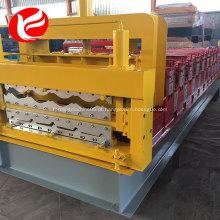 Máquina formadora de telhado de deck duplo de alta qualidade
