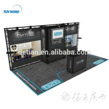 Oferta de Detian 10x20 20ft exposición de truss de cabina de exhibición de aluminio