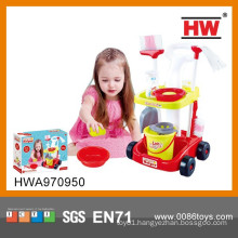 New Design Kid Household Sanitary Cleaning Toy Cart