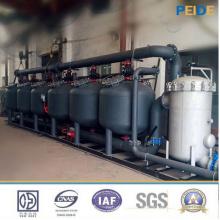 Filtro de meios de filtro da areia da água refrigerando de 30-500t / H