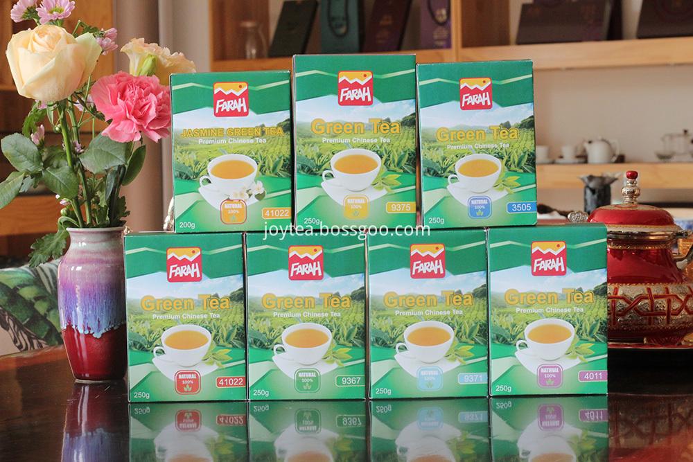 green tea series