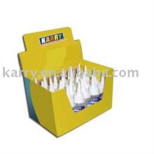 Colle liquide de silicone de 60ml avec l'emballage de boîte d'affichage