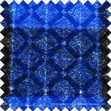 Tissu 100% poli en laine brillant pour le pardessus