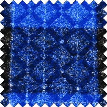 Блестящая 100% полиэфирная шерстяная ткань для пальто