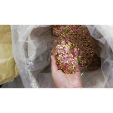 Brillo grueso de color mezclado para arte de uñas