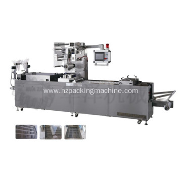 Thermoforming vacuum packing machine for fruit and vegetable